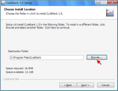 Choose Installation Location