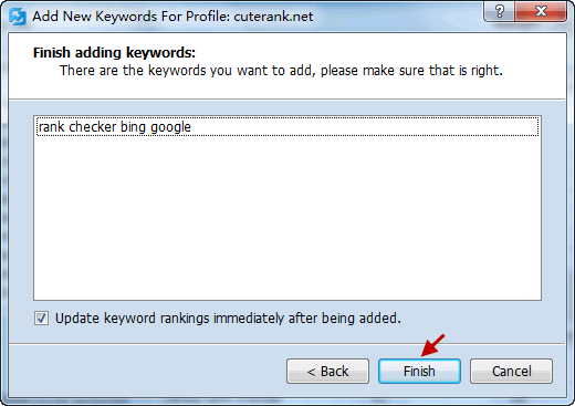 Import Keywords from Text File Screenshot 3
